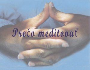 Praktická príručka k meditácii