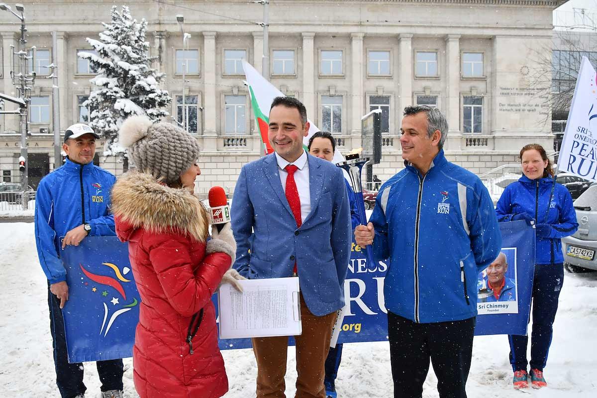Odštartoval európsky beh Peace Run