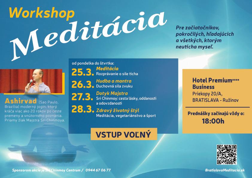 Meditácia: 4-dňový workshop s Ashirvadom