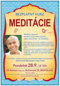 Kurz meditácie